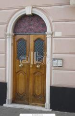 Doors entrance in Almaty