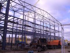 Metalwork construction welded in Almaty