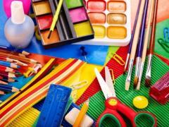 Канцелярские товары для школы.