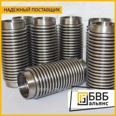 Компенсатор сильфонный осевой 08Х18Н10Т КСО ARM 50-16-60 (ПЭ)