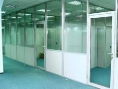 Partitions aluminum