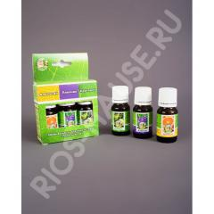 Set of essential oils Pleasant steam
