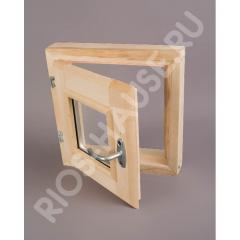 Window double-glazed window of 400х400 mm.