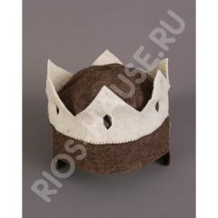 Шапка для бани Корона Царя
