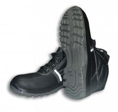 Ботинки ГРАНИТ кожаные с искусственным мехом