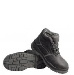Ботинки ГРАНИТ кожаные ИМ с металлическим носом