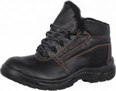 Ботинки ОНИКС кожаные с искусственным мехом