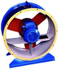 The fan axial BO-14-320-4 with el.dv 0,25х1500
