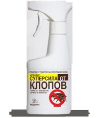 Инсектицидное средство предназначено специально для борьбы с резистентными популяциями клопов.