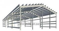 Поставка и монтаж металлоконструкций разной сложности, ангары,склады и производственные бызы