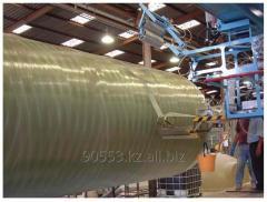 Резервуары и трубы из армированного стеклопластика (Fiberglass)
