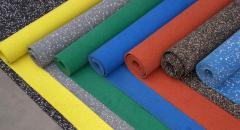 Покрытие каучуковое