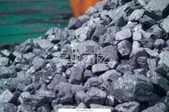 Уголь каменный вагонами