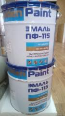 PF-115 enamel (for internal and external works)