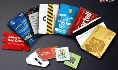 The smart card laminated by paper