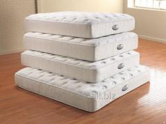 Orthopedic mattresses from the plant of the