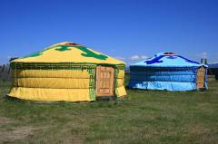Yurts in Kazakhstan and the CIS