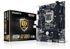 Материнская плата Gigabyte GA-H110M-S2 DDR4 Soc-1151 Intel H110 mATX AC`97 8ch(7.1) GbLAN+VGA GAH11MS2-00-G