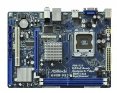 Материнская плата ASRock G41M-VS3 Rev2.0 LGA775 2xDDR3 (1333-800) 4хSATA2 1xIDE IntelGMA X4500 1xLPT 1xCOM1 LAN 10/100 Sound 5.1 BOX
