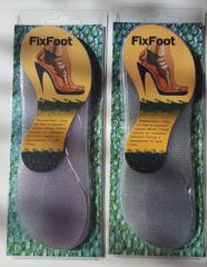 INSOLES FOR FOOTWEAR ON THE HIGH HEEL OF