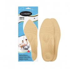 Corbby insoles from natural skin