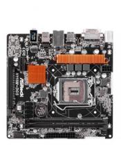 Материнская плата ASRock H110M-DGS LGA1151 INTEL H110 2xDDR4 (2133 max 32Gb) 4xSATA3 1xDVI-D 1xPCI Express3.0x16 1xPCI Express2.0x1 4xUSB2.0 2xUSB3.0 7.1-канальный HD-кодек GbLan mATX BOX