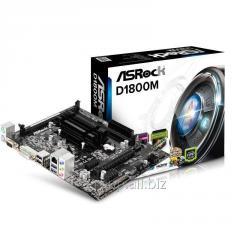 Материнская плата ASRock D1800M (Intel Dual-Core J1800, SoC, PCI-Ex16) D1800M