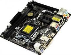 Материнская плата ASRock H81M-ITX LGA1150 PCI–E Dsub+DVI+HDMI GbLAN SATA Mini–ITX 2DDR–3 H81M-ITX