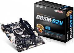 Материнская плата Gigabyte GA-B85M-D2V 3.0 Soc-1150 Intel B85 2xDDR3 mATX AC`97 8ch(7.1) GbLAN+VGA+DVI GAB85MD2V-00-G3