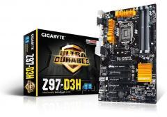 Материнская плата Gigabyte GA-Z97-D3H (RTL) LGA1150 2xPCI-E Dsub+DVI+HDMI GbLAN SATA RAID ATX GAZ97D3H-00-G11