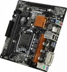 Материнская плата ASRock H110M-DGS LGA1151 PCI–E DVI GbLAN SATA MicroATX 2DDR–4