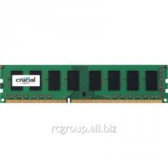 Оперативная память 4Gb DDR3 1600MHz Crucial CT51264BD160BJ 240-pin UDIMM PC3-12800
