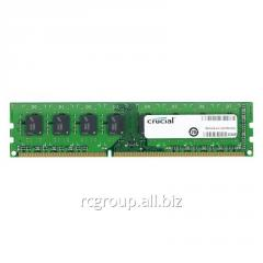 Оперативная память 8Gb DDR3L 1600MHz Crucial CT102464BD160B 240-pin UDIMM PC3-12800 1,35V CL11