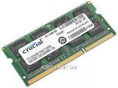 Оперативная память для ноутбука 8Gb DDR3 1600MHz Crucial CT102464BF160B SODIMM PC3-12800 1.35V/1.5V