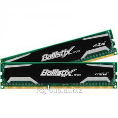 Оперативная память BLS2CP4G3D1609DS1S00CEU Memory DDR3 1600 MHz Crucial 8GB Kit (4GBx2)  PC3-12800 Unbuffered NON-ECC 1.5V 512Meg x 64