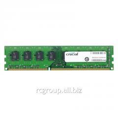 Оперативная память CT102464BD160B Memory DDR3L 8GB 1600Mhz Crucial MT/s (PC3L-12800) CL11 Unbuffered UDIMM 240pin 1.35V/1.5V