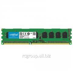 Оперативная память DDR3L 1866Mhz Crucial 4GB CT51264BD186DJ UDIMM PC3-14900 CL13 Unbuffered NON-ECC 1.35V 512Meg x 64