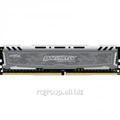 Оперативная памятьMemory DDR4 16GB 2400Mhz Crucial MT/s (PC4-19200) CL16 DR x8 Unbuffered DIMM 288pin BLS16G4D240FSB