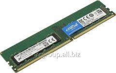 Оперативная память DDR4 2400MHz Crucial 16Gb CT16G4WFD824A PC4-19200 CL=17 Unbuffered ECC