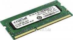 Память CT51264BF160B Memory SO-DIMM 1600MHz Crucial 4GB DDR3 PC3-12800 Unbuffered NON-ECC 1.35V