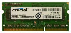 Память CT51264BF160BJ Memory SO-DIMM DDR3 4Gb 1600MHz Crucial  (CT51264BF160BJ) (pc3-12800)