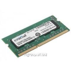 Память CT25664BF160BJ Memory SO-DIMM DDR3 Crucial 2GB  PC3-12800 Unbuffered NON-ECC 1.35V