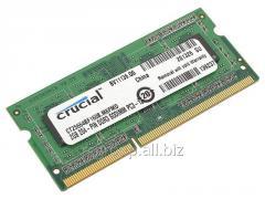 Память CT25664BF160B Memory SO-DIMM DDR3 Crucial 2GB (CT25664BF160B) PC3-12800 Unbuffered NON-ECC 1.35V