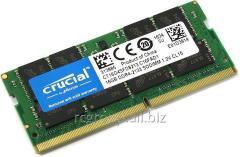 Оперативная память DDR4-2133Mhz Crucial CT16G4SFD8213 16GB SODIMM PC4-17000 CL15 Dual Ranked x8 based Unbuffered NON-ECC 1.2V 2048Meg x 64