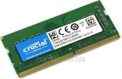 Оперативная память DDR4 2133Mhz Crucial CT8G4SFS8213 8GB SODIMM PC4-17000 CL15 Single Ranked x8 based Unbuffered NON-ECC 1.2V 1024Meg x 64