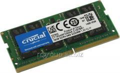 Оперативная память DDR4 2400MHz Crucial 16GB CT16G4SFD824A SODIMM PC4-19200 CL=17 Unbuffered NON-ECC