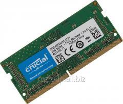 Оперативная память DDR4 2400Mhz Crucial CT4G4SFS624A 4GB SO-DIMM PC4-19200 CL17 SR x16 Unbuffered