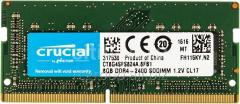 Оперативная память DDR4 2400Mhz Crucial CT8G4SFS824A 8GB SO-DIMM PC4-19200 CL17 Single Ranked x8 based Unbuffered NON-ECC 1.2V 1024Meg x 64