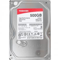 Жесткий диск HDD  500Gb TOSHIBA P300 SATA 6Gb/s 7200rpm 64Mb 3.5