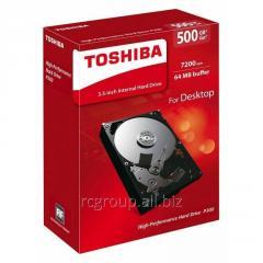 Жесткий диск HDD  500Gb TOSHIBA Р300 SATA 6Gb/s 7200rpm 64Mb 3.5